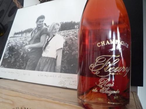 Rosé Champ'